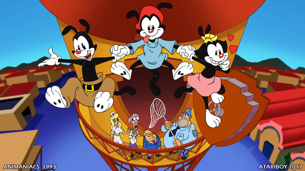 I heart animaniacs by atariboy2600 on deviantart - Animaniacs pictures ...