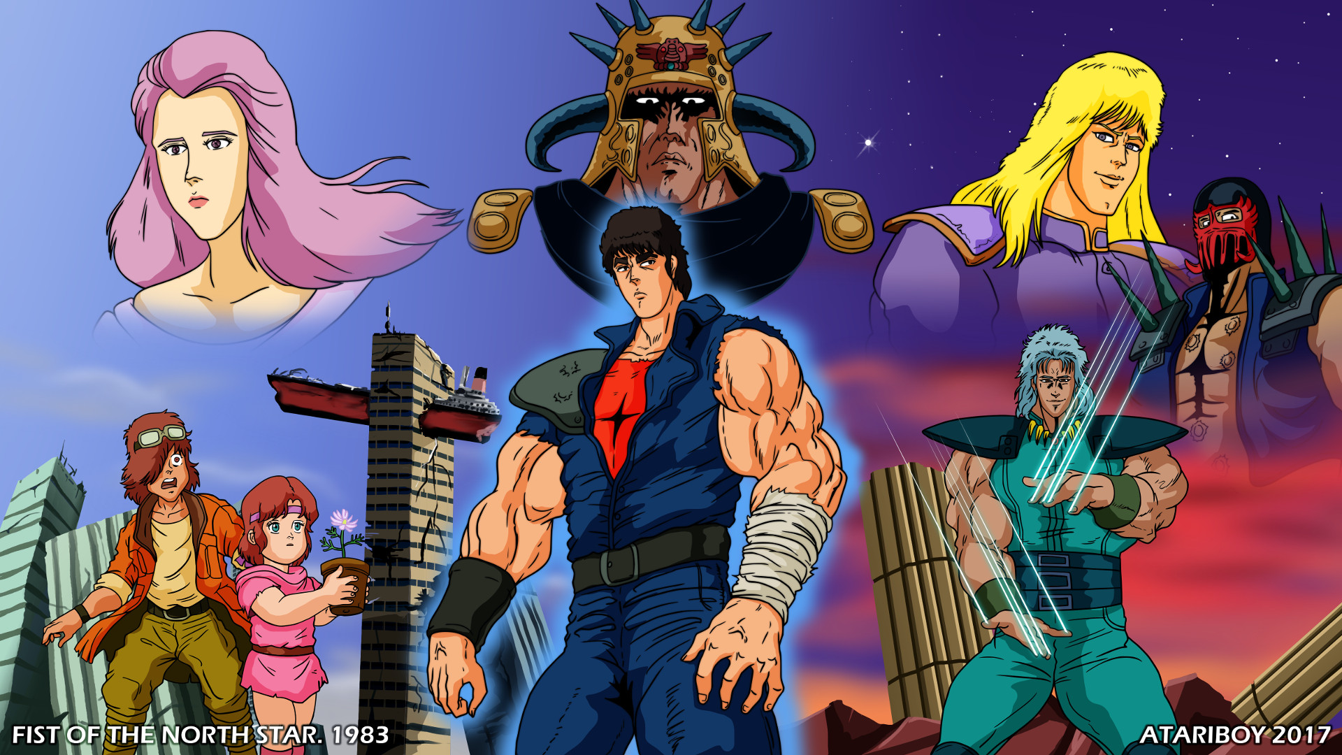 I Heart Fist Of The North Star By Atariboy2600 On Deviantart
