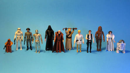 Kenner Star Wars - Action Figures. by Atariboy2600