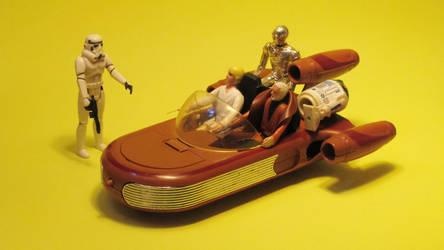 Kenner Star Wars - Landspeeder. by Atariboy2600