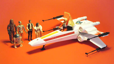 Kenner Star Wars - X-wing Fighter Vehicle. by Atariboy2600
