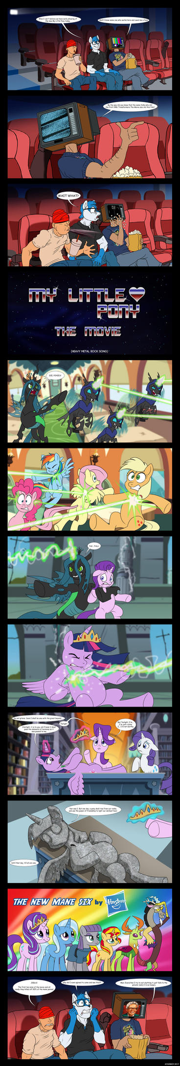 My Little Pony The Movie - HASBRO EDITION. by Atariboy2600