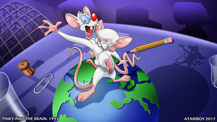 I Heart Pinky And The Brain.