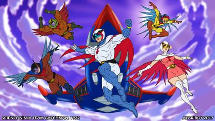 I Heart Science Ninja Team Gatchaman.
