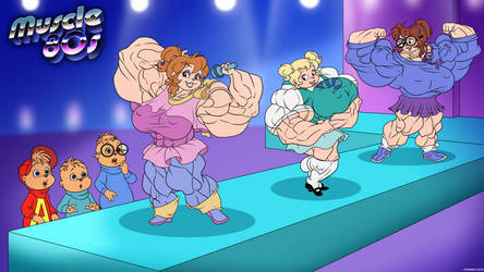 Muscle 80s - The Chipettes.