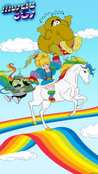 Muscle 80s - Rainbow Brite.