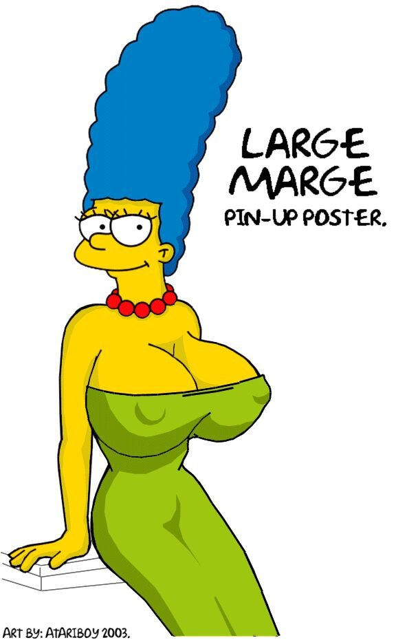 Marge naked boobs 8