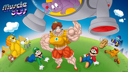 Muscles 80s - Super Mario Land.