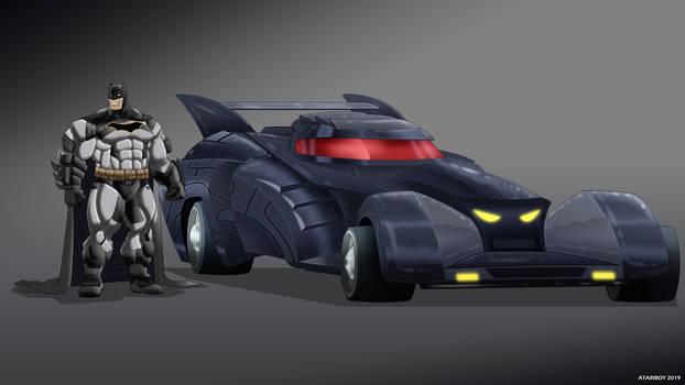 Batman Earth-24: Batmobile