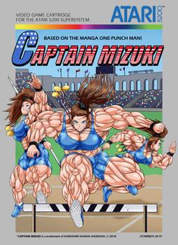 Captain Mizuki Atari 5200 - Box Art.
