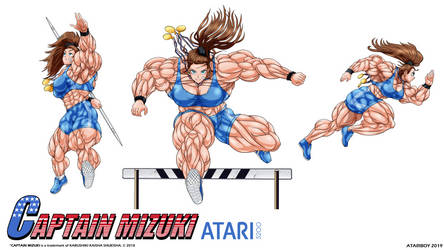 Captain Mizuki Atari 5200 - Wallaper.
