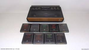 Launches Video Games - 1977 Atari VCS.