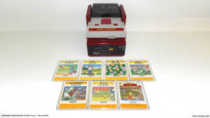 Launches Video Games - 1986 Famicom Disk System.