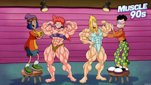Muscle 90s - Pepper Ann. by Atariboy2600