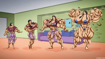 Muscledela Female Muscle Growth.