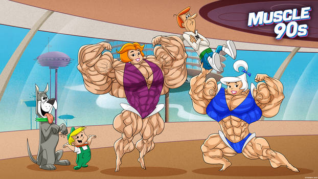 Muscle 90s - The Jetsons Movie.