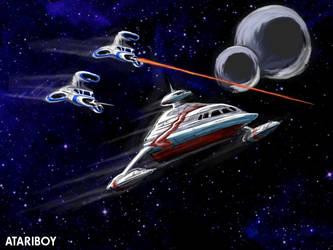 Atari 30th Anniversary Art no5 by Atariboy2600