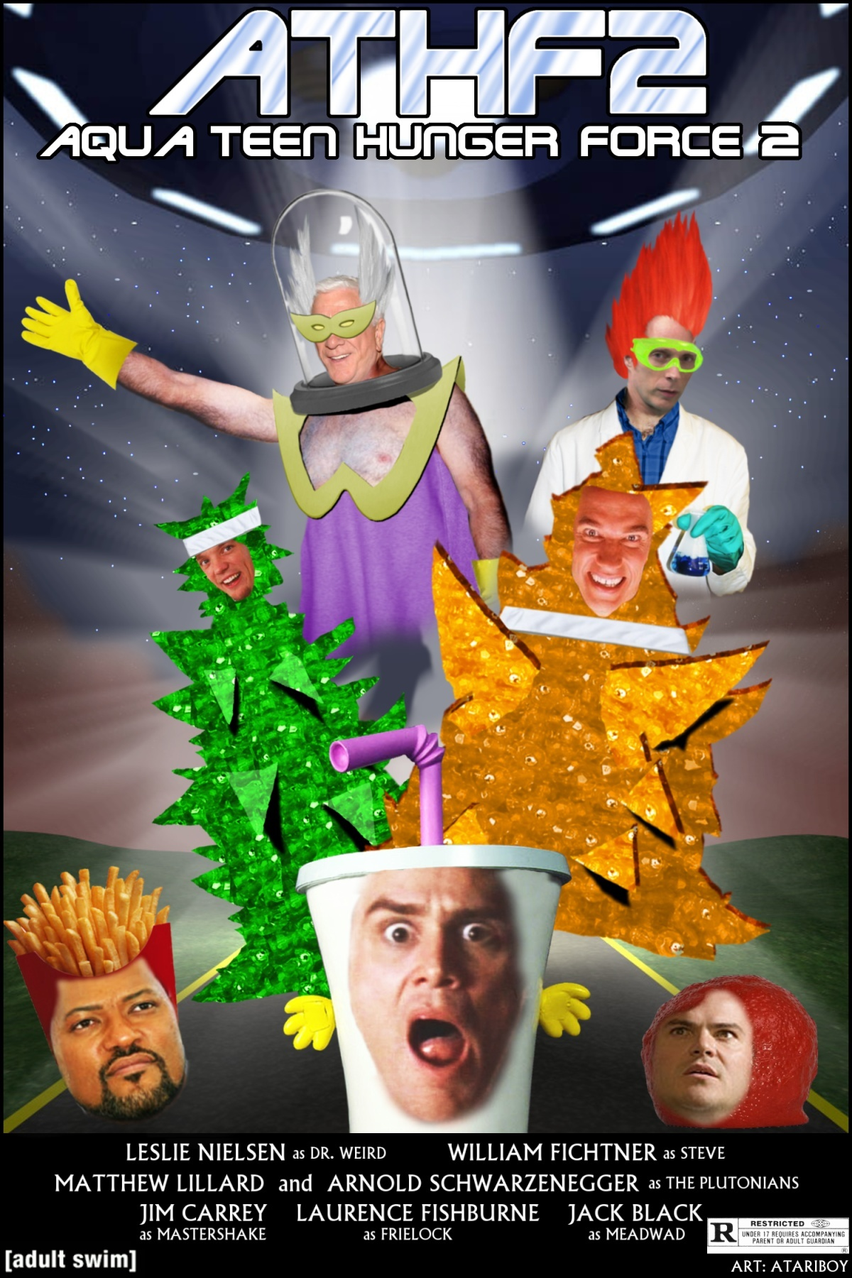 Aqua Teen Hunger Force Colon Movie Film for