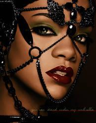 Colorize with Rihanna by dorynhaa