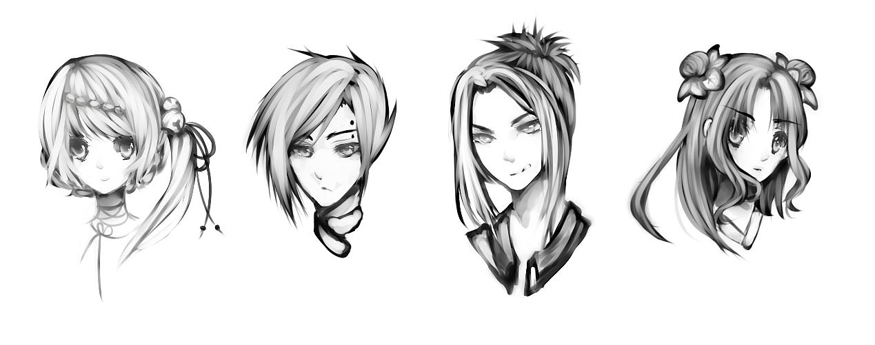 Head Shots by maequri