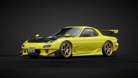GT Sport - Initial D RE Amemiya RX7 FD3S