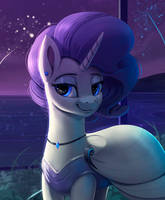 Rarity New Year by Rodrigues404