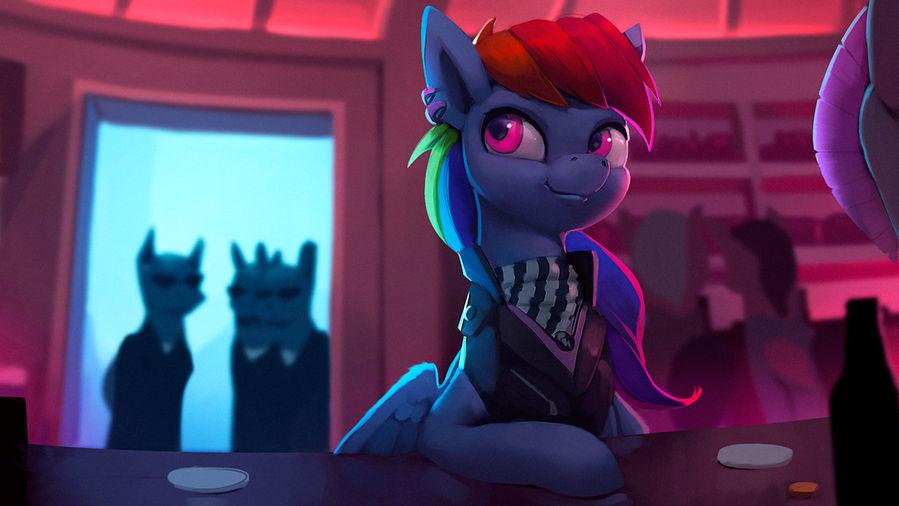 Rainbow Dash Wanted