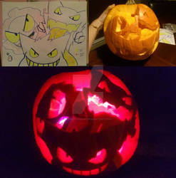 Pokemon Pumpkin: Ghost Trio