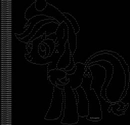 ASCII AppleJack by FLYingG0D