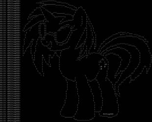 ASCII VinylScratch by FLYingG0D