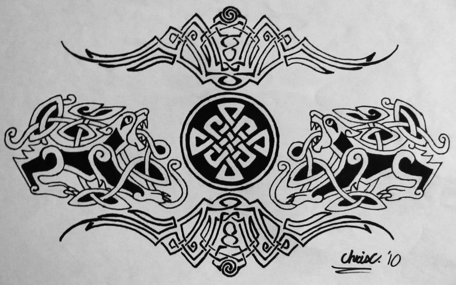 celtic tramp stamp tattoo by ticklemehoho on deviantart. Black Bedroom Furniture Sets. Home Design Ideas