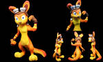 Daxter Sculpture by SophieXSmith