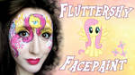 My Little Pony Fluttershy Facepaint