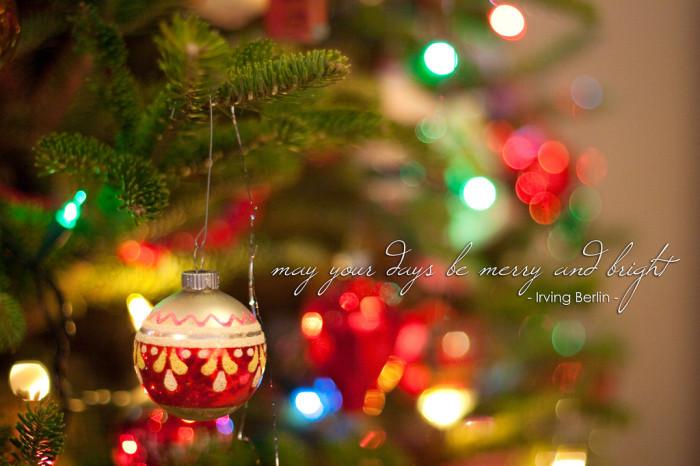 Merry and Bright - Christmas Quotes by mudassarsaleem92