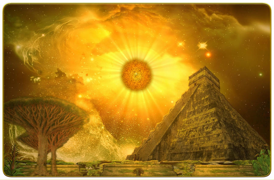 Mayan Ascension by stramp1a