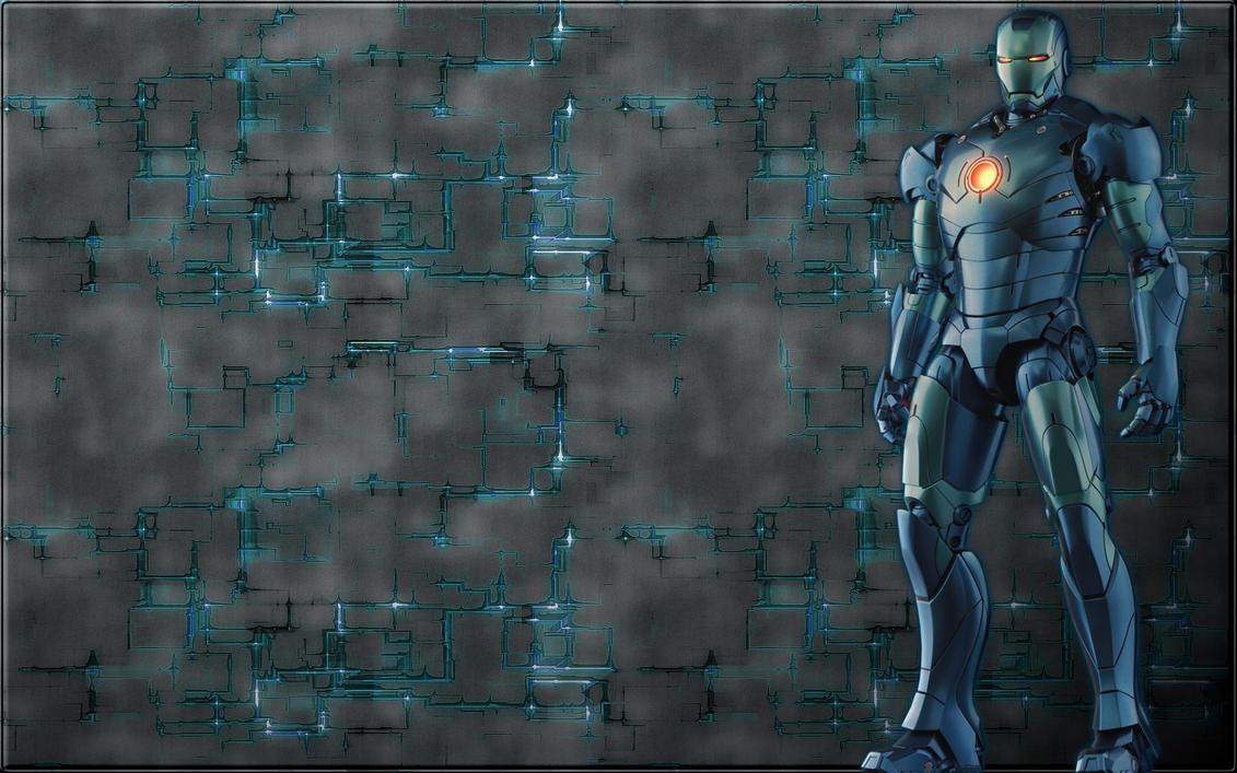Iron Man Mark 3 Stealth2 bonus wall by stramp1a