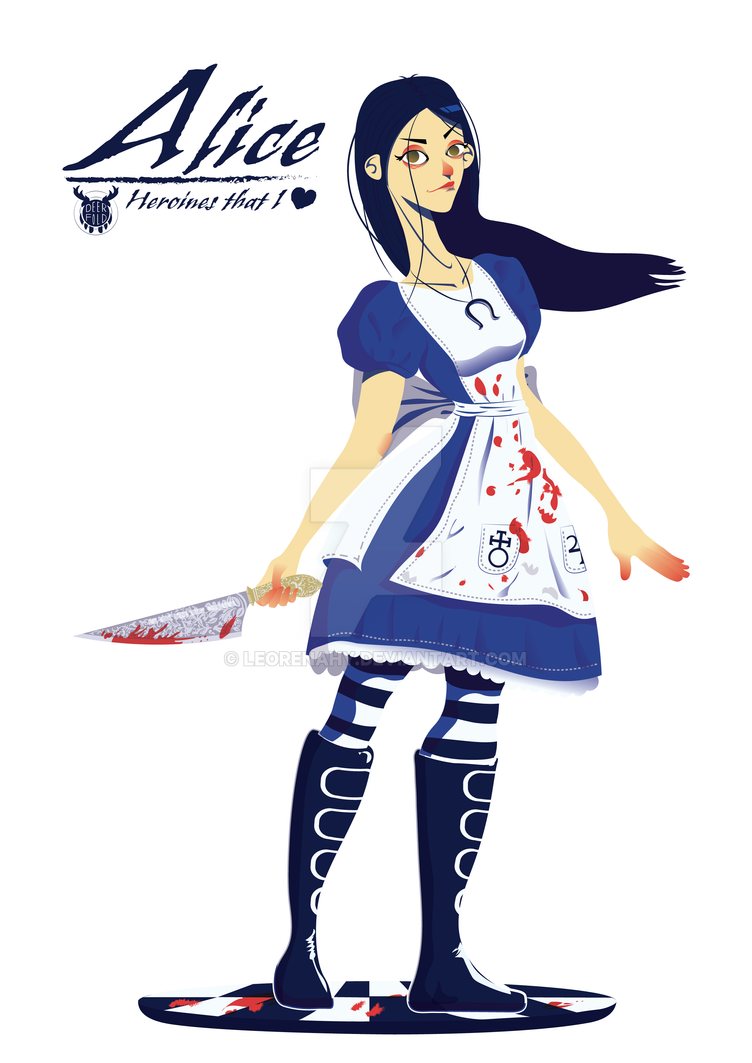 A for Alice (Madness Returns) by LeoRenahy