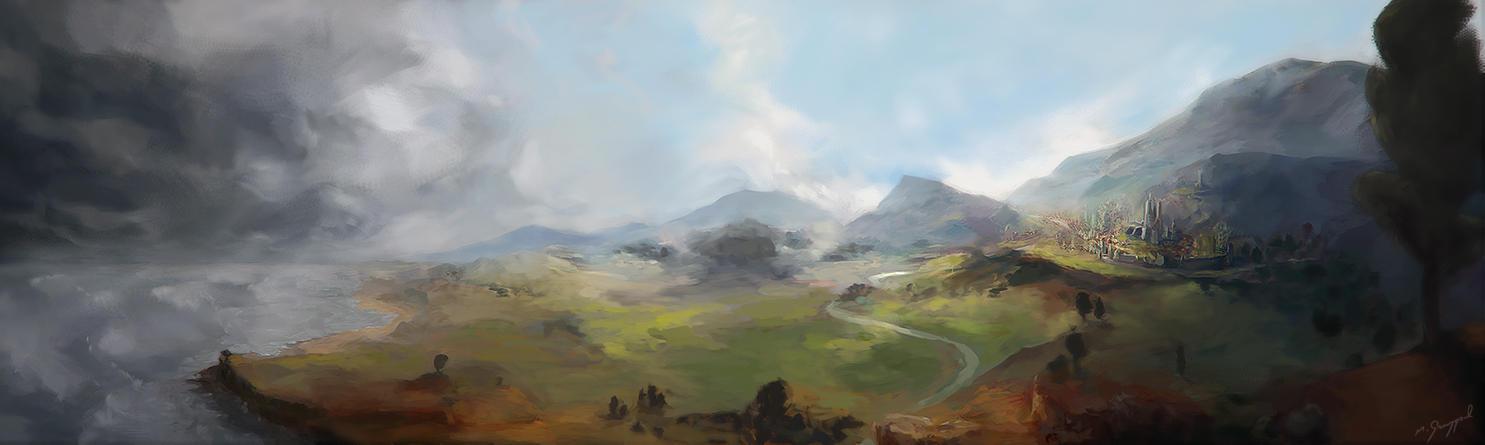 Another epic fantasy landscape