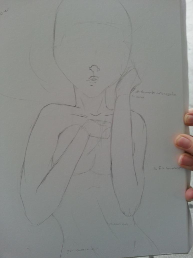 Girl art neked 5