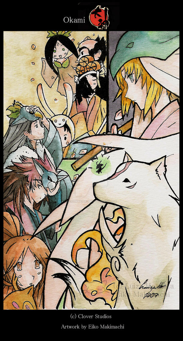 The Legend of Amaterasu Okami by eikomakimachi