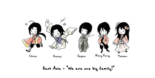 APH - East Asia Doodle by eikomakimachi