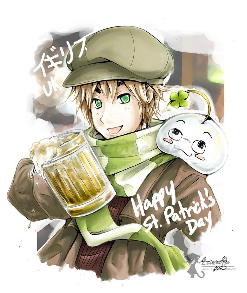 Iggy Iggy St. Patrick by eikomakimachi