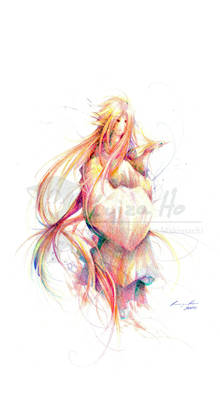 OC - Hanabi color sketch