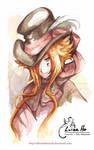 Watercolor Hatter