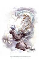 Summoning The Dragon by eikomakimachi