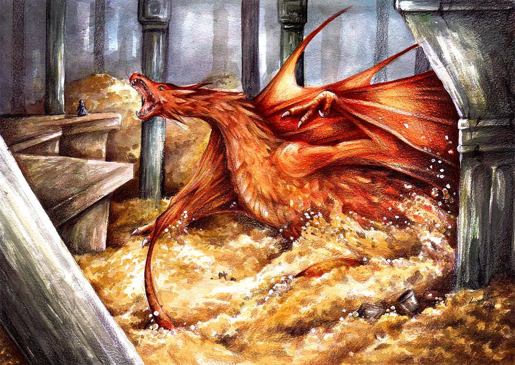 The dragon is awake by eikomakimachi
