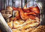 The dragon is awake