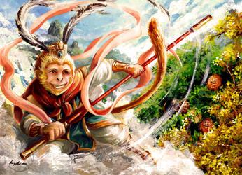 Sun Wukong (Happy Year of the Monkey)