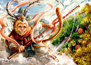 Sun Wukong (Happy Year of the Monkey)