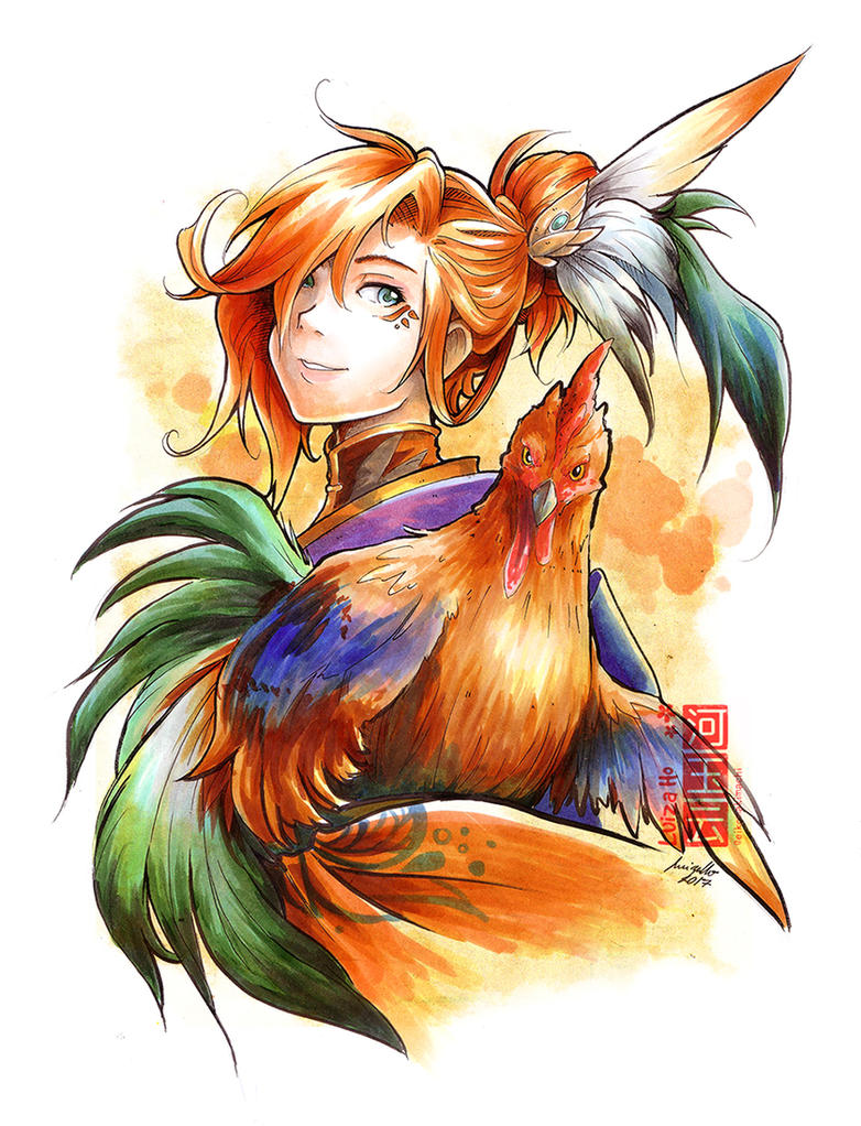 Year of the Rooster 2017 by eikomakimachi